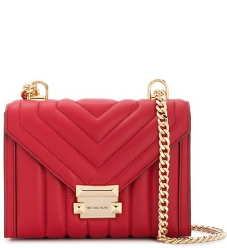 MICHAEL Michael Kors small Whitney quilted chevron shoulder bag