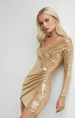BCBGMAXAZRIA Off-Shoulder Cocktail Dress