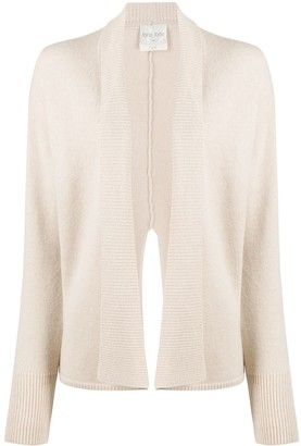 Forte Forte Rib-Trimmed Open Front Cardigan