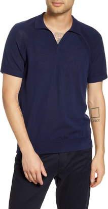 Club Monaco Johnny Collar Wool Polo Shirt