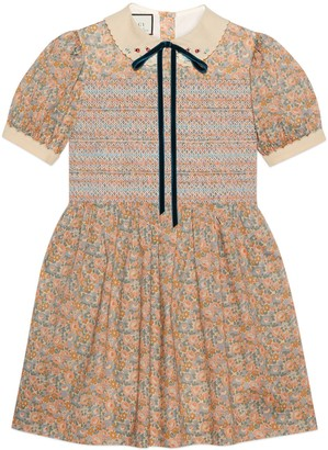 Gucci Liberty floral cotton dress