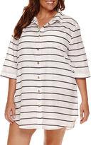 A.N.A a.n.a Stripe Dress - Plus