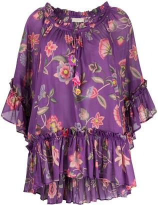 Alessia floral print mini dress
