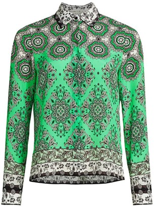 Alice + Olivia Willa Mandala Blouse