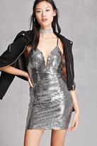 Forever 21 FOREVER 21+ Sequined Mini Dress