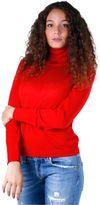 Weekend Woman Turtleneck Sweater Saba Red