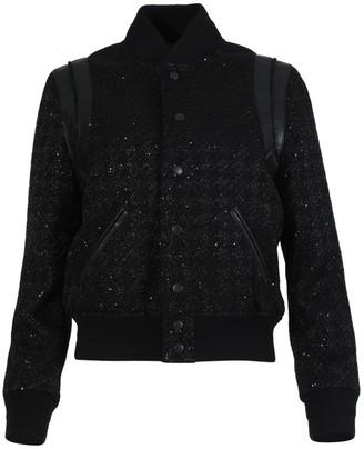 Saint Laurent Wool Teddy Jacket