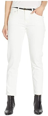 AG Jeans Ex Boyfriend Slim in 1 Year Tonal White (1 Year Tonal White) Women's Jeans