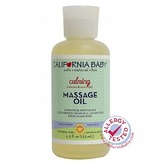 California Baby Massage Oil, Calming