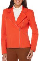 Rafaella Knit Moto Jacket