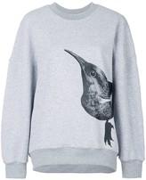 Bird Print Sweater
