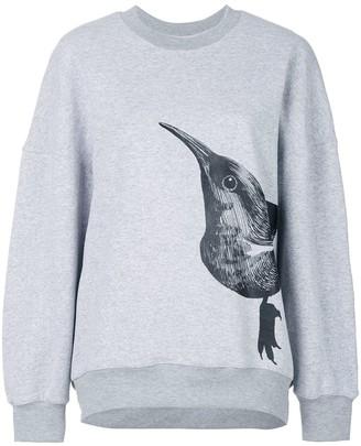 Ioana Ciolacu Bird Print Sweater