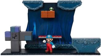 """Nintendo Super Mario2.5"""" Underwater DioramaPlayset"""
