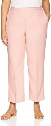 Alfred Dunner Women's Plus-Size Proportioned Short Solid Pant