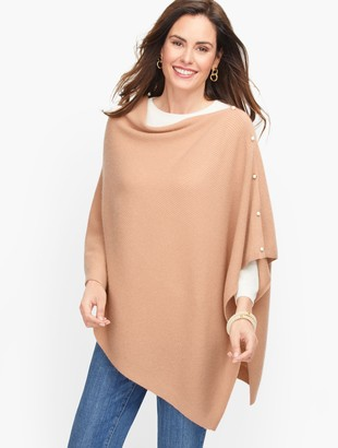 Talbots Pure Cashmere Poncho