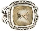 David Yurman Citrine & Diamond Albion Ring