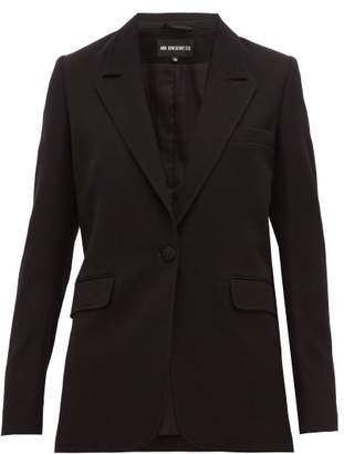 Ann Demeulemeester Single-breasted Wool-blend Boyfriend Blazer - Womens - Black