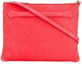 Etro textured shoulder bag - women - Calf Leather - One Size