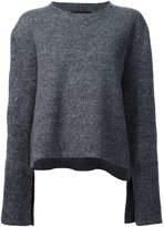 Ellery flared sleeves jumper - women - Merino - XS