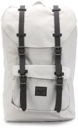 Herschel Logo Patch Buckled Backpack