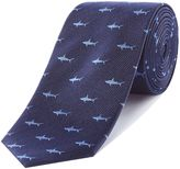 Simon Carter Shark Silk Tie