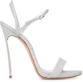 Casadei Blade V celebrity 130mm sandals
