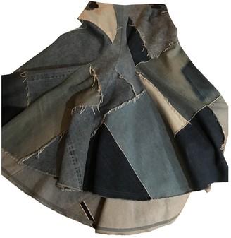 Junya Watanabe Blue Denim - Jeans Skirt for Women