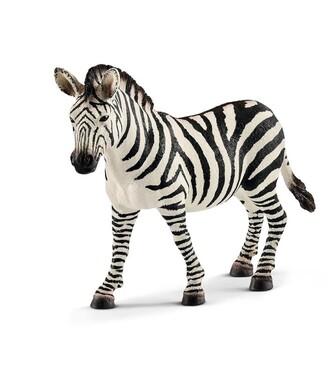 Schleich Hand-Painted Figure Zebra, female