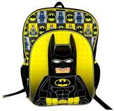 Lego Batman Molded Kids' Backpack with Printed Straps & Reflective Strips