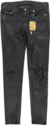 BLK DNM Black Leather Trousers