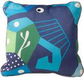 Nurseryworks Nursery Works Cubist Print Toddler Pillow, Seahorse, Oceanography