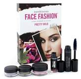Bare Escentuals BareMinerals Face Fashion Collection - The Look Of Now Pretty Wild ( Blush + 2x Eye Color + Mascara + Lipcolor MakeUp Set - BareMinerals Face Fashion Collection - 5pcs