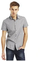 Kenneth Cole New York Kenneth Cole Men's Short Sleeve Clean Chk Shirt
