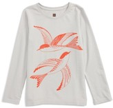 Tea Collection Toddler Girl's Scalloway Graphic Tee