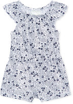 First Impressions Floral-Print Cotton Romper, Baby Girls (0-24 months), Only at Macy's