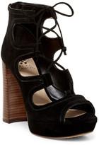 Vince Camuto Kamaye Ghillie Platform Sandal