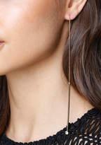 Bebe Drops Pull-Through Earrings