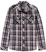Rock Revival Plaid Long-Sleeve Woven Shirt