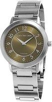 Calvin Klein Jeans Continual K8713150 36mm Silver Steel Bracelet & Case Mineral Women's Watch