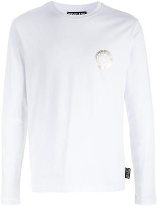 Versace Jeans Couture metallic-logo T.shirt