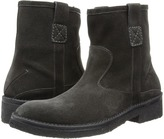 CNC Costume National Suede Side Zip Boot