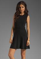Theory Gleam Taolina Silk Blend Dress