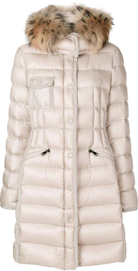 Moncler Hermifur padded coat