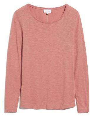Armedangels Karaa Long Sleeve T Shirt - KARAA / Medium / Cinnamon Rose