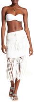 Tiare Hawaii Crosey Fringe Skirt