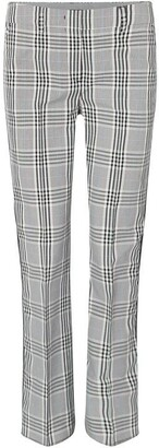 Sportmax Code Macario long checked pants