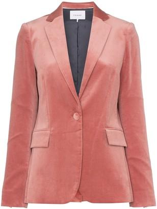 Frame single-breasted blazer jacket