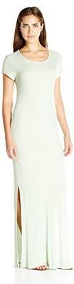 good hYOUman Women's Carmen Seafoam Maxi Dress Large