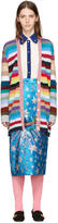 Gucci Multicolor Rainbow Cardigan