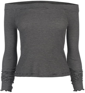 Firetrap Blackseal Lattice Bardot Top
